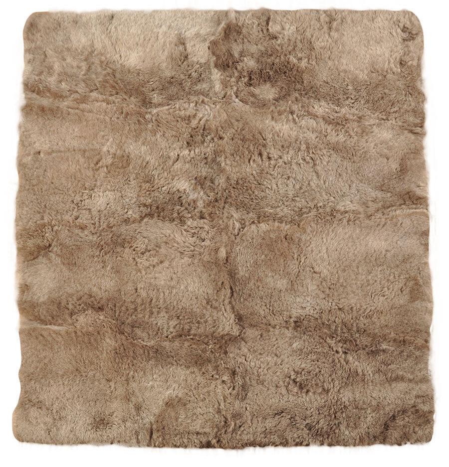 Éco Islande Peau Lainee Tapis 200 x 160 cm cm cm Fourrure-Tapis Taupe de 8 ovini | Les Consommateurs D'abord  f1b034