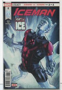 Iceman-8-NM-Legacy-Iceman-Vs-Iceman-Part-1-of-1-Marvel-Comics-CBX2C
