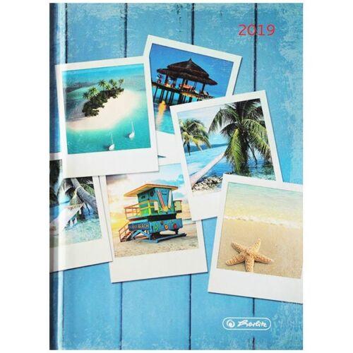 Herlitz Minitimer Buchkalender Fotos 2019 A6 Rainbow 1 Tag 1 Seite
