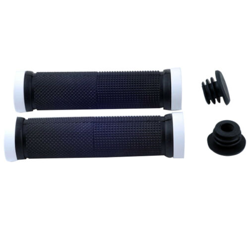2*Metal for BMX bike bicycle double lock on locking cycling handle bar grips ES