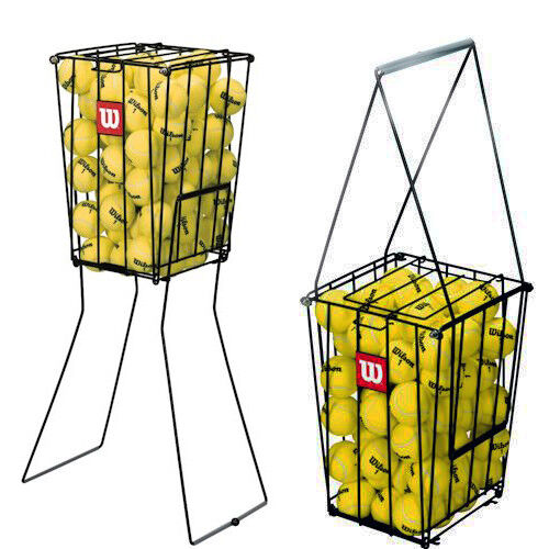 Wilson 75 Tennis Ball Pick Up Hopper Durable Portable tennis ball basket new