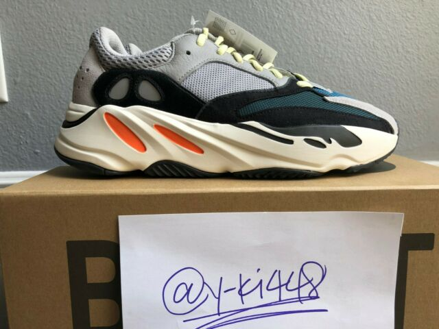 new concept b7a5f f0d46 adidas Yeezy Boost 700 Wave Runner Solid Grey B75571 M Size 13 DS