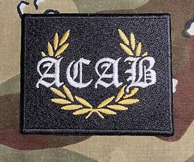ACABEmbroidered Patch A.C.A.B