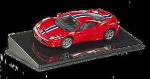 Ferrari 458 Spéciale Rouge 1/43 Bly45 Hotwheels Elite