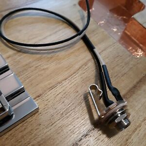 SWITCHCRAFT-11-Mono-entree-jack-pre-cable-1-4-034-avec-10-034-GAVITT-replique-Wire-Leads