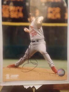 St. Louis Cardinals Justin Thompson Autographed 8x10