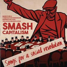 V.A. SMASH CAPITALISM SONGS FOR A SOCIAL REVOLUTION CD
