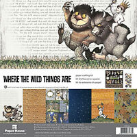 Paper House Where The Wild Things Are Scrapbooking Kit-12x12 Papers & Stickers