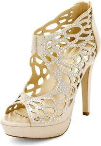 DREAM PAIRS Womens Open Toe Stilettos High Heel Sandals Party Dress Shoes