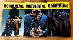 Borderline-Dynamite-TPB-lot-Vol-2-3-4-Risso-Trillo