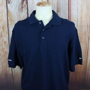 82809c91 Nike Men's Polo Shirt Sz Large Golf S/S Navy Blue Citizens Bank NEW ...