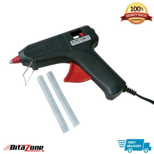 Pistola de pegamento caliente derretir eléctrico con 100 palos de Pegamento Adhesivo Hobby Craft hágalo usted mismo Mini