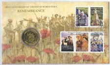 2008 UNC $1 90th ANV OF THE END OF WWI REMEMBRANCE DAY PNC