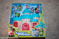 Pretend Toy KNIGHT'S FORTRESS by Keenway CASTLE KNIGHTS & HORSES Age 18+ Months