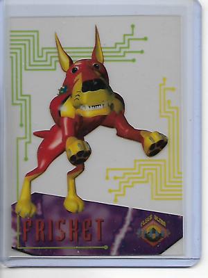 1995 Fleer Ultra Fox Kids Network Suspended Animation #9 Eek!