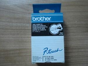 Original Brother TC-Y01 TC Y01 P-touch 12 mm x 4,0 m für PT-6/8/8E/8EII/10/500 - Bielefeld, Deutschland - Original Brother TC-Y01 TC Y01 P-touch 12 mm x 4,0 m für PT-6/8/8E/8EII/10/500 - Bielefeld, Deutschland