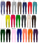 Girls-Kids-Plain-Cotton-Thick-Long-Length-Leggings-Age-2-13-Dance-Brown-Black thumbnail 1