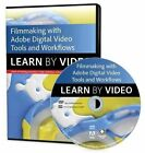 Filmmaking Workflows with Adobe Pro Video Tools: Learn by Video by Adobe Creative Team, Adam Shaening-Pokrasso (DVD-ROM, 2014)