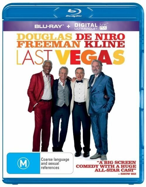 Last Vegas (Blu-ray, 2014) Free Post!!