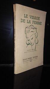 Il Viso Della Donna R Besacon 1943 Vigot Parigi 3EME Edit. Stampe ABE