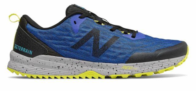 New Balance Men's Nitrel V3 Shoes Blue With Black