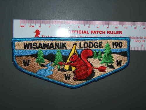 Boy Scout OA 190 Wisawanik flap 2676U