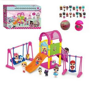 DOL-LOL-Surprise-Doll-Park-House-Game-Slide-Play-Set-Baby-Girl-Kids-Gift-Toy