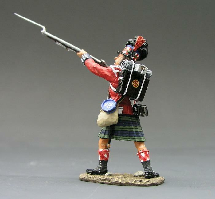 NA054 - Lunging with Bayonet - King and Country - Napoleonic - RETIRED