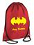 Personalised-Drawstring-Bag-BATMAN-School-Gym-PE-Kit-Sport-Boys thumbnail 5