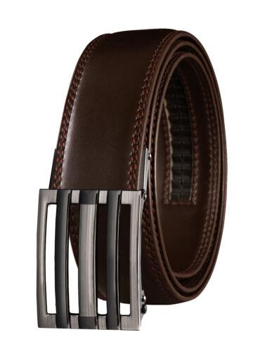 VinicioBelt Brooklyn Buckle w// Automatic Ratchet Belt