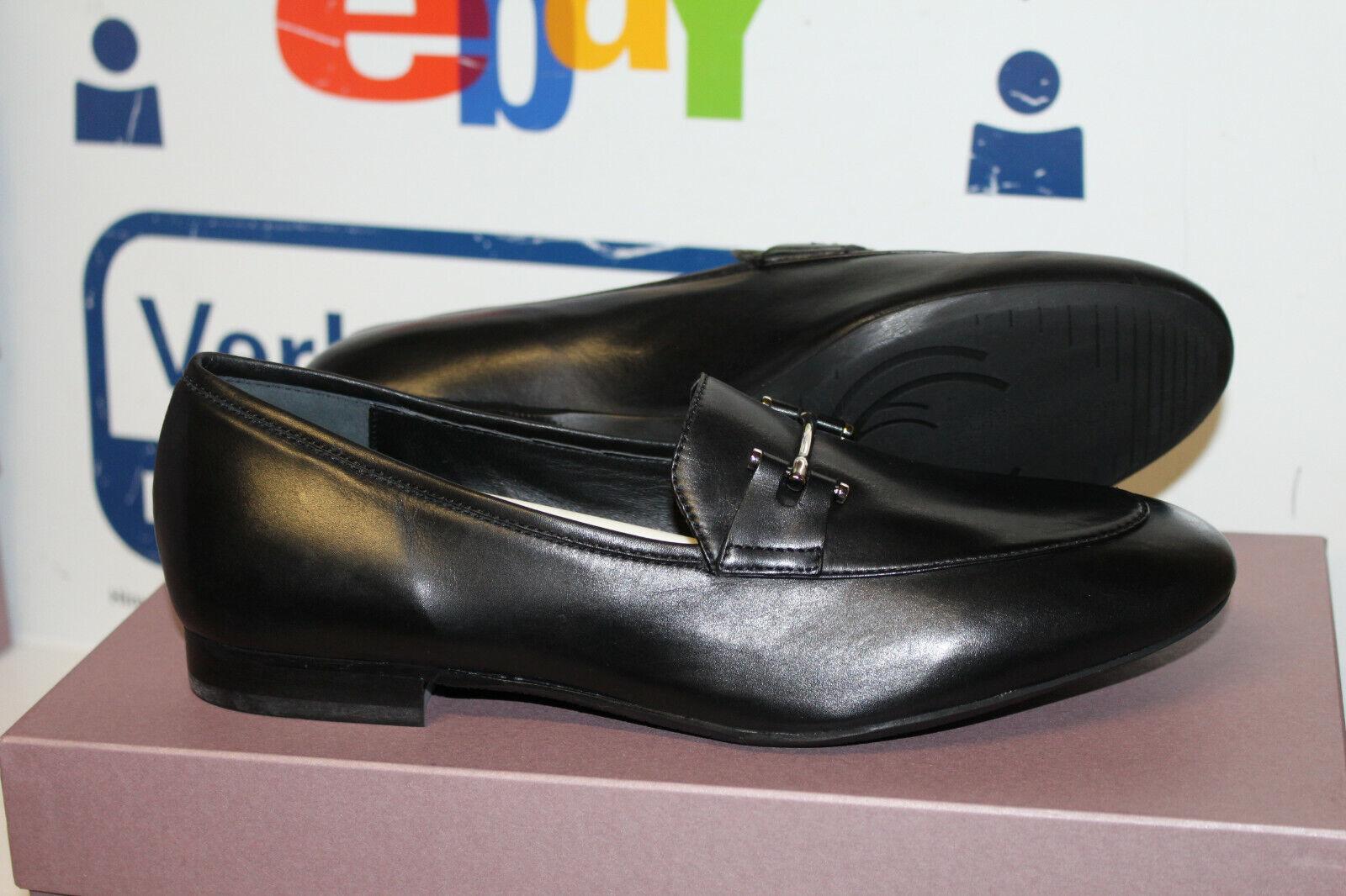damen Carolina Damen Slipper-Schuhe 33.135.158.001 Schwarz Gr 38,5 Neu
