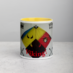 Afghan Kite Design Coffee Mug - Stylish & Sleek ( Design name, Viking )