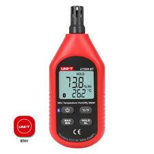 Temperature Humidity Meter 10 60c 14 140f 0 99rh Bluetooth Ios Android App