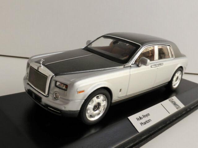 Rolls-Royce Phantom Limousine 2010 1/43 IXO MOC163 ROLLS ROYCE gris argenté