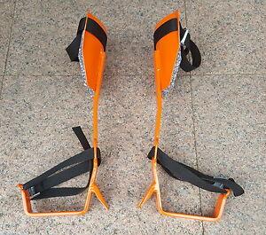 Forst-Steigeisen-Baumsteigeisen-Baumpflege-Doppeldorn-Industrie-gefertigt
