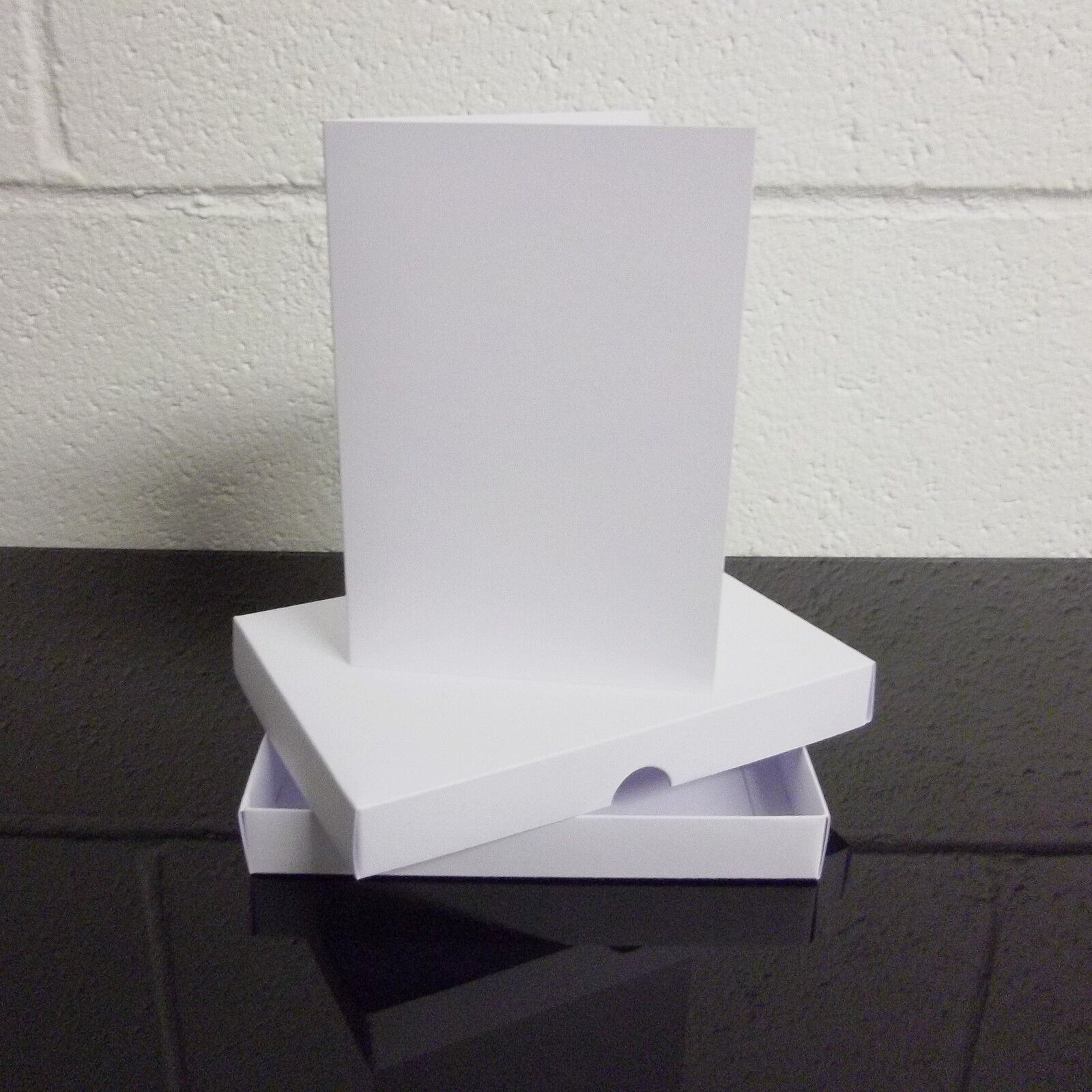 A5 Weiß Greeting Card Box   Wedding Invite Box With Cards Choose Quantity