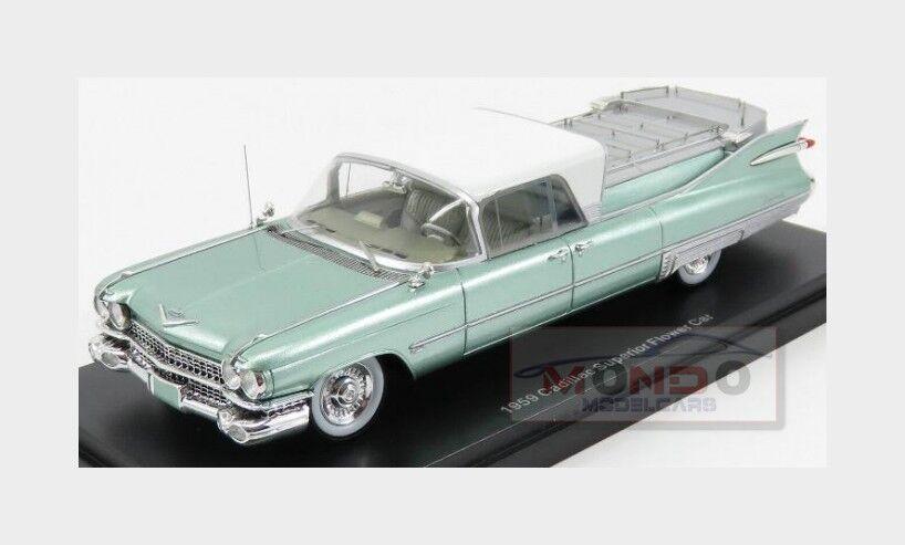 Cadillac S&S Superior Landau Carro Funebre Funeral Car Neoscale 1 43 NEO45263