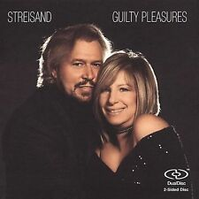 GUILTY PLEASURES: Sreisand with Barry Gibb DualDisc CD-Like New-FREE SHIPPING
