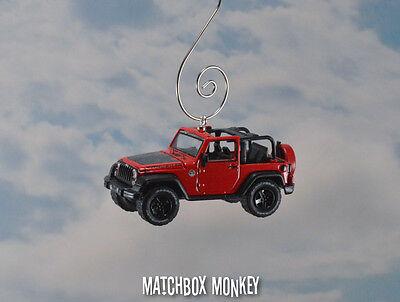 2016 Jeep Wrangler Custom Christmas Ornament 1//64 Black Bear Hard Top /'16 JK
