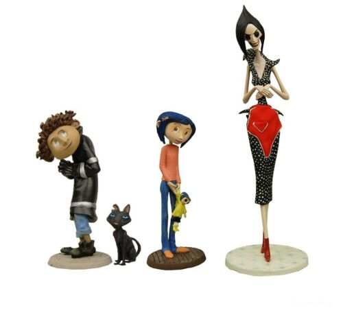 Wybie /& Coraline NECA Cat Other Mother Coraline -Best of PVC Mini-Figure Set