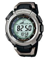 Casio Pro Trek Prg-110-1vdr Triple Sensor Tough Solar 100m Watch
