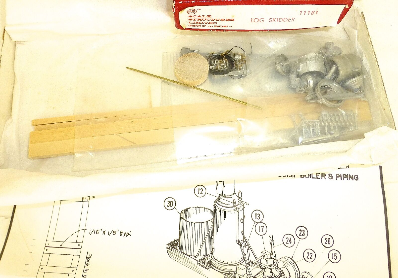 Log Skidder Kit Kit ungebaut ungebaut ungebaut SCALE STRUCTURES Limited 11181 h0 1:87 Neuf dans sa boîte å | New Style,En Ligne  | Terrific Value  | Durable  9d993f