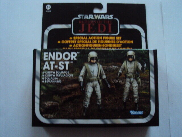 StarWars collection : STAR WARS THE VINTAGE COLLECTION - ENDOR AT-ST CREW  2012 HASBRO NEUF