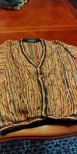 Men's Tundra Cardigan Sweater XL