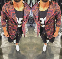 Oversize Pullover Cardigan Kapuze Strickjacke Herren Design Swag Style Luxus Neu