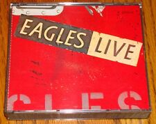 EAGLES LIVE ORIGINAL DOUBLE CD   ROCK & ROLL!   1980