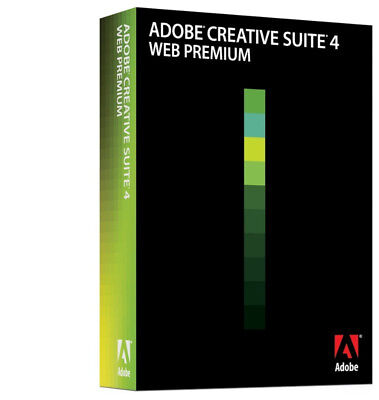 Software Bild, Video & Audio Intellektuell Software Adobe Creative Satz 4 Web Premium Mac Os Auswahlmaterialien