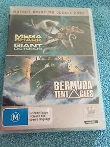Mega-Shark-Versus-Giant-Octopus-BERMUDA-TENTACLES-2-DVD-SET-NEW-amp-SEALED