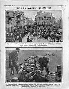 Chasseurs-a-Cheval-Poilus-Prise-de-Carency-Bataille-d-039-Artois-Arras-1915-WWI