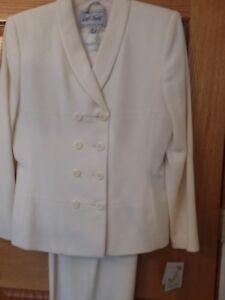 Lord Taylor Women S Wool Suit Blazer Pants Lined Ebay